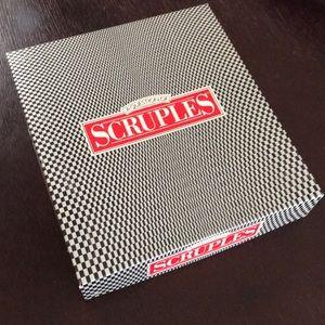A Question of Scruples Milton Bradley board game